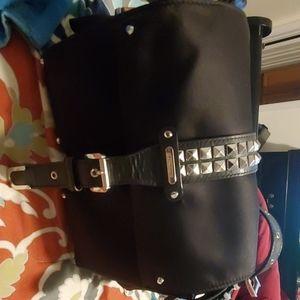 Micheal Kors Olivia Studded LARGE messenger bag